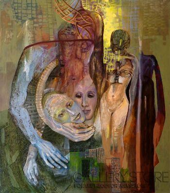Anna Lupa-Suchy-Kolor miłości-Olej