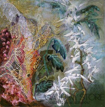 Anna Lupa-Suchy-Kwiaty wolności-Olej