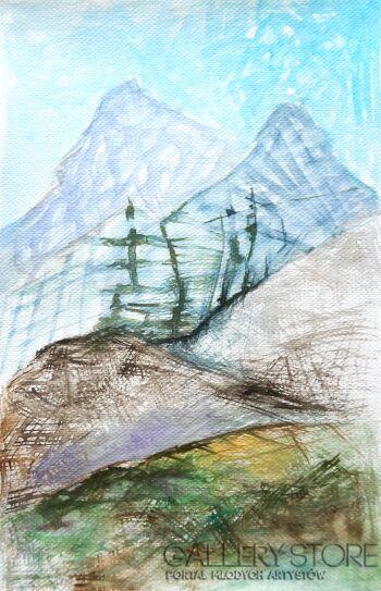 Anna Lupa-Suchy-Tyrol-Akwarela