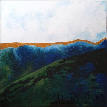 Anna Magier-W górach 2-Akryl