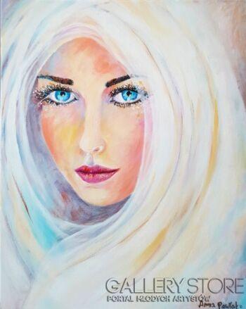 "Anna Pawlak-""Oczy Anioła""-Akryl"