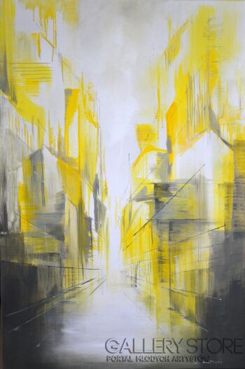 Anna Trzupek-Bright street-Akryl