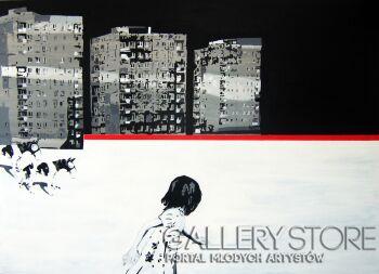 Artur Bartkiewicz-Zdarzenie II-Akryl