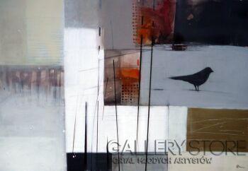 Barbara Zabłocka-ptasie-Akryl
