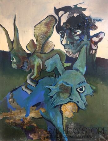 Bartłomiej Górecki-Darith-Akryl
