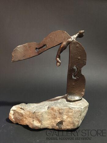 Daria  Grajek-Anioł Muzyczny -Rzeźby