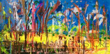 Daria  Grajek-Impresja Abstrakcja-Akryl