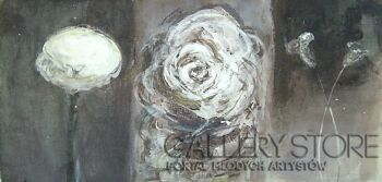Dariusz Grajek-Kwiaty...-Akryl