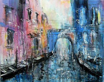 Dariusz Grajek-W Wenecji.....-Akryl