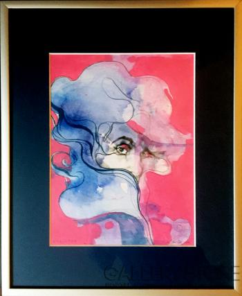 Dominik Jasiński-Selene in Pink-Rysunek