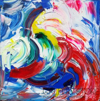 Dominika Gołąb-Rainbowstorm  III-Olej