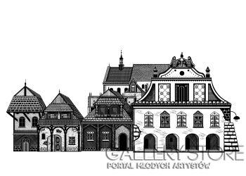 Dominika Wilk-Kazimierz Dolny II-Grafika