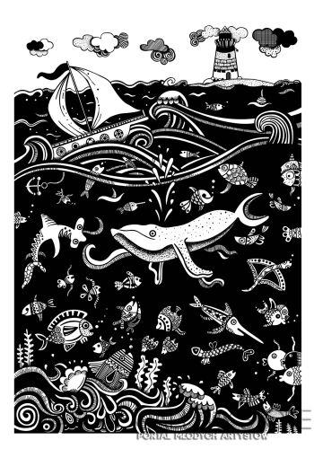 Dominika Wilk-Morski świat -Grafika