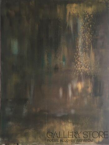 Dorota Gawron-Cisza pod wodą-Akryl