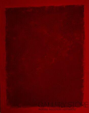 Dorota Gawron-Red No.1 Scar-Akryl