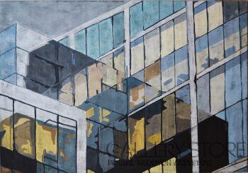 Dorota Kwiatkowska-To nie są szklane domy-Akryl