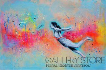 Eliza Kleczewska-W stronę wolności-Akryl