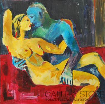 Emilia Gąsienica-Setlak-Amantes Amentes II-Akryl