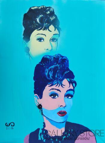 Emilia Gąsienica-Setlak-Audrey Hepburn-Akryl