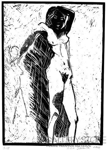 Emilia Gąsienica-Setlak-Czarna Madonna-Rysunek