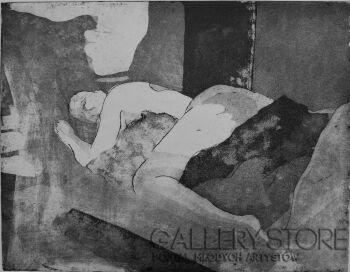 Emilia Gąsienica-Setlak-Śpiąca Królewna-Grafika