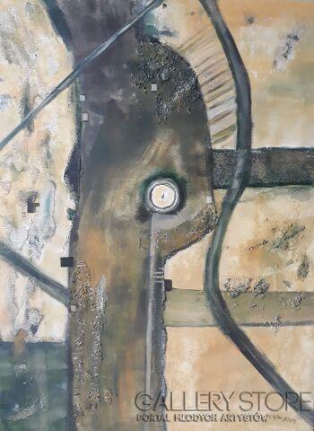 Ewa Gbiorczyk-Wind farm 1-Akryl
