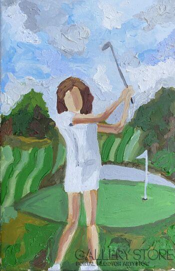 Ewa Jaros-Golf #1-Olej