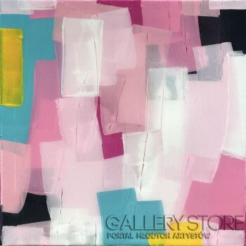 Ewa Jaros-Jolly Lollipops-Akryl