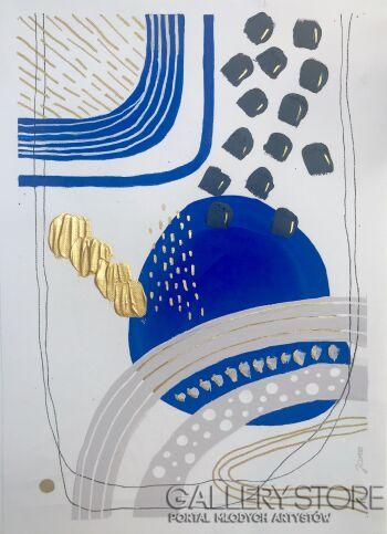 Ewa Jaros-Study 4-Akryl