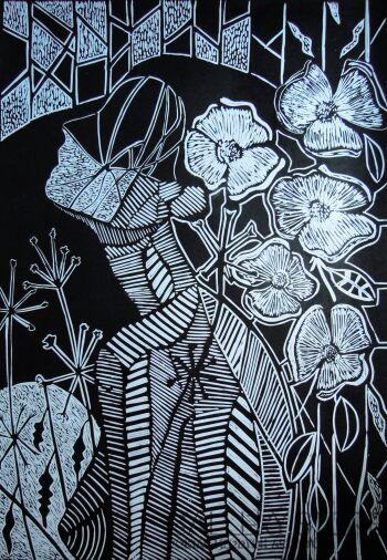 Ewa Klimkiewicz-Kwiat-Grafika