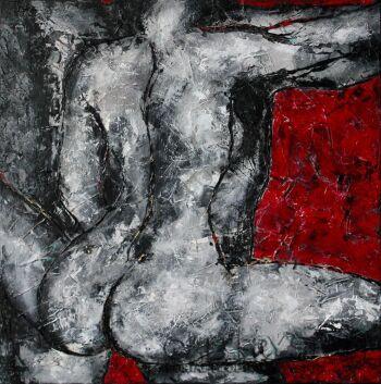 Ewa Najdenow-Akt IV-Akryl