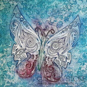 Ewa Narloch-Kerszka-Magia skrzydeł II-Grafika