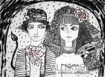 Ewa Narloch-Kerszka-Nieziemskie monidło-Grafika
