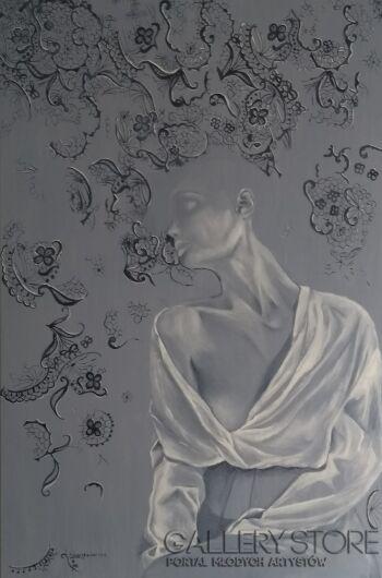 Ewa Nowiszewska-Stare koronki-Olej