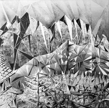 Filip Warzecha-TATRY - mistyka natury-Akryl