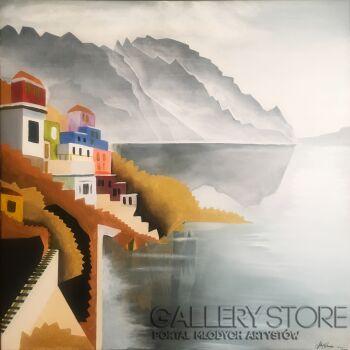 Filip Warzecha-Złote wybrzeże-Akryl