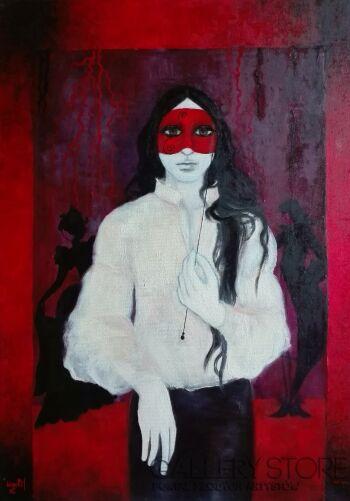 Helga Nagy-Masquerade-Olej