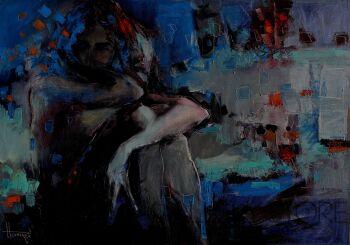 Henadzy Havartsou-Tajemnice nocy-Olej