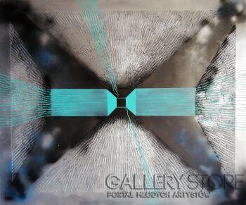 Iza Kostiukow-W odmętach głębi płytki oddech wulkanu-Akryl