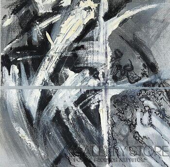 Iza Kostiukow-Zapamiętane (2)-Technika mieszana