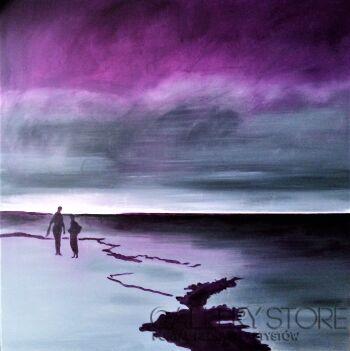Iza Kostiukow-Zew morza (7)-Akryl