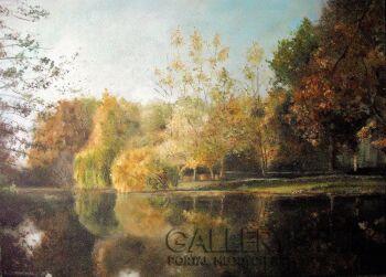 Izabela Domaniecka-Landscape.-Olej