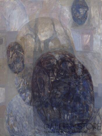 Izabela Wolska-bez tytułu-Olej