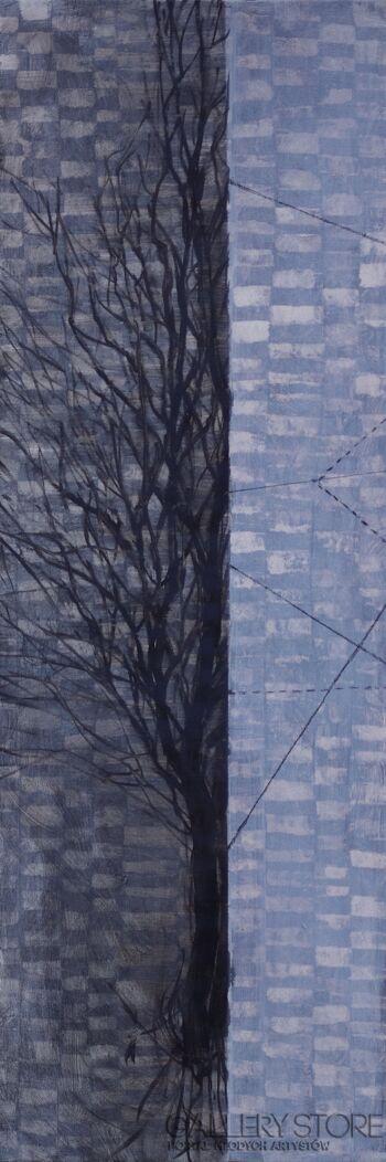 Izabela Wolska-Projekt: drzewo-Olej