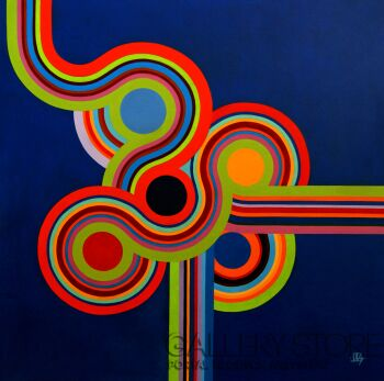 Jagoda Dziewanowska-Naked Color-Olej