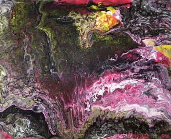 Janina Pelczar-Abstrakcja 6-Akryl