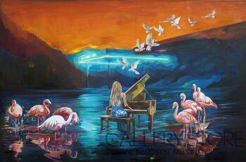 Janusz Orzechowski-Przerwana lekcja muzyki X -Olej