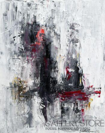 Jarosław  Rymarz-Abstrakcja I-Akryl