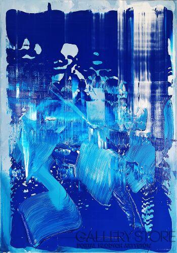Joanna  Grześkowiak-COOL BLUE-Akryl