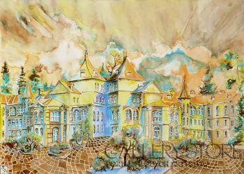Joanna Rzeźnik-Pałac -Akwarela